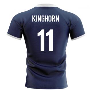 2020-2021 Scotland Flag Concept Rugby Shirt (Kinghorn 11)