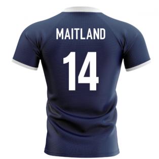 2020-2021 Scotland Flag Concept Rugby Shirt (Maitland 14)