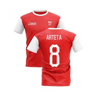 2019-2020 North London Home Concept Football Shirt (Arteta 8)