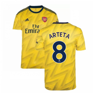 2019-2020 Arsenal Adidas Away Football Shirt (Arteta 8)