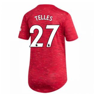 2020-2021 Man Utd Adidas Womens Home Shirt (TELLES 27)