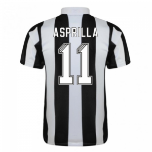 1996-97 Newcastle Home Shirt (Asprilla 11)