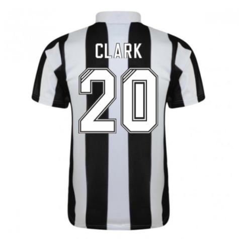 1996-97 Newcastle Home Shirt (Clark 20)
