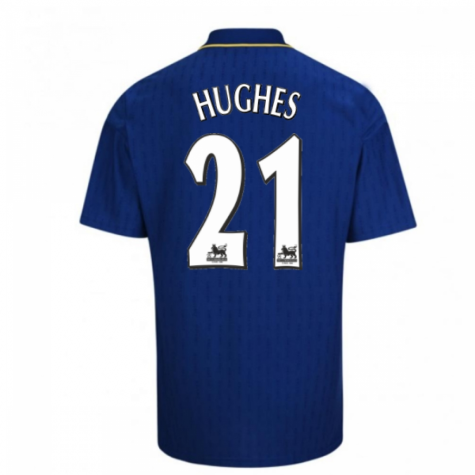 1997-98 Chelsea Fa Cup Final Shirt (Hughes 21)