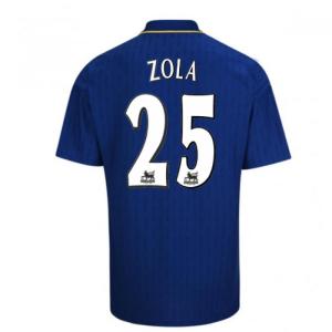 1997-98 Chelsea Fa Cup Final Shirt (Zola 25)