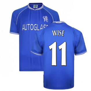 2000-2001 Chelsea Home Shirt (Wise 11)