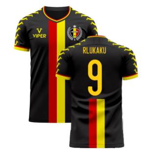 Belgium 2020-2021 Away Concept Football Kit (Viper) (R LUKAKU 9)