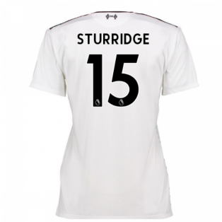 2016-17 Liverpool Away Womens Shirt (Sturridge 15)