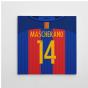 2016-2017 Barcelona Canvas Print (Mascherano 14)