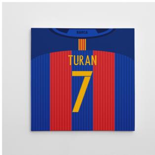 2016-2017 Barcelona Canvas Print (Turan 7)