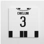 2016-2017 Juventus Canvas Print (Chiellini 3)