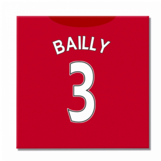 2016-2017 Man United Canvas Print (Bailly 3)