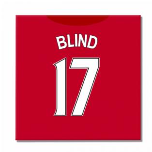 2016-2017 Man United Canvas Print (Blind 17)