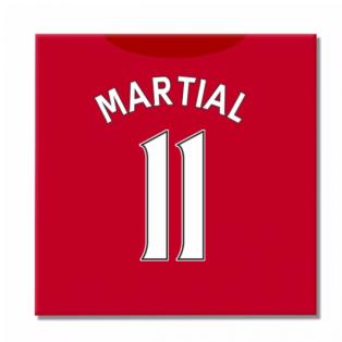 2016-2017 Man United Canvas Print (Martial 11)