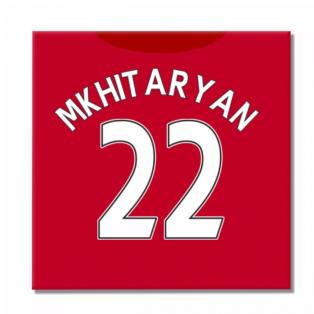 2016-2017 Man United Canvas Print (Mkhitaryan 22)