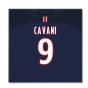 2016-2017 PSG Canvas Print (Cavani 9)