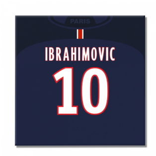 2016-2017 PSG Canvas Print (Ibrahimovic 10)