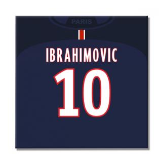 2016-2017 PSG Canvas Print (Ibrahimovic 10)