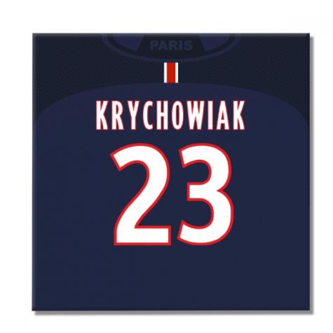 2016-2017 PSG Canvas Print (Krychowiak 23)