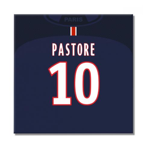 2016-2017 PSG Canvas Print (Pastore 10)