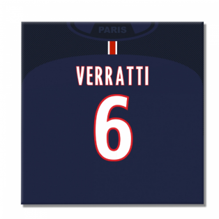 2016-2017 PSG Canvas Print (Verratti 6)