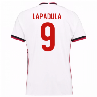 2017-18 Ac Milan Away Shirt (Lapadula 9) - Kids