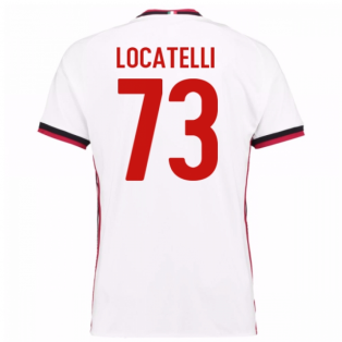 2017-18 Ac Milan Away Shirt (Locatelli 73)