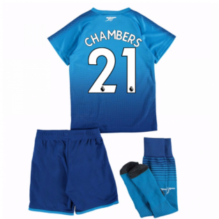 2017-18 Arsenal Away Mini Kit (Chambers 21)