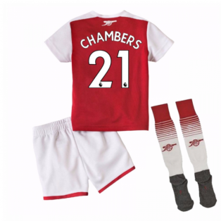 2017-18 Arsenal Home Mini Kit (Chambers 21)