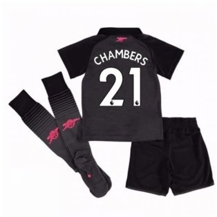 2017-18 Arsenal Third Mini Kit (Chambers 21)