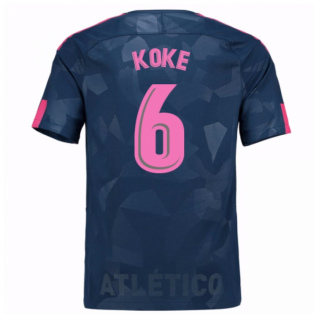 2017-18 Atletico Madrid Third Shirt (Koke 6)