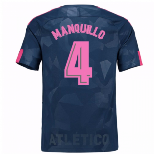 2017-18 Atletico Madrid Third Shirt (Manquillo 4) - Kids