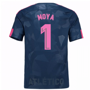 2017-18 Atletico Madrid Third Shirt (Moya 1) - Kids