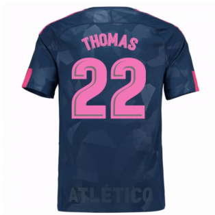 2017-18 Atletico Madrid Third Shirt (Thomas 22) - Kids