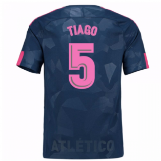 2017-18 Atletico Madrid Third Shirt (Tiago 5) - Kids