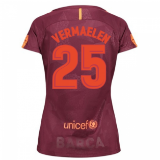 2017-18 Barcelona Third Women Shirt (Vermaelen 25)