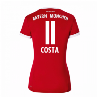 2017-18 Bayern Munich Home Womens Shirt (Costa 11)