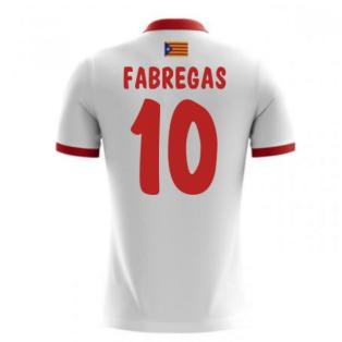 2017-18 Catalunya Airo Away Shirt (Fabregas 10) - Kids