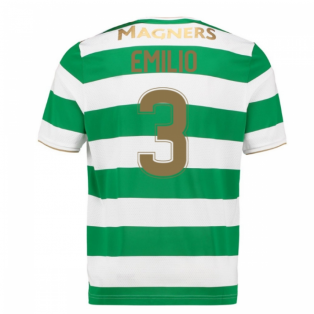 2017-18 Celtic Home Shirt (Emilio 3) - Kids