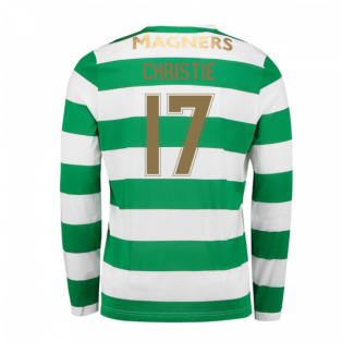 2017-18 Celtic Long Sleeve Home Shirt (Christie 17)
