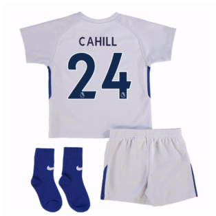 2017-18 Chelsea Away Baby Kit (Cahill 24)