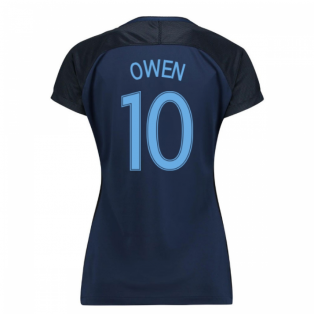 2017-18 England Away Womens Shirt (Owen 10)
