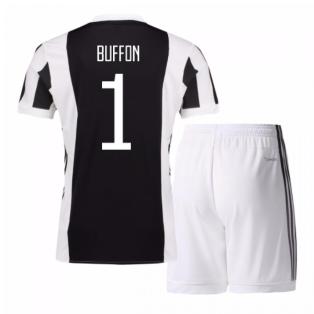 2017-18 Juventus Home Mini Kit (Buffon 1)