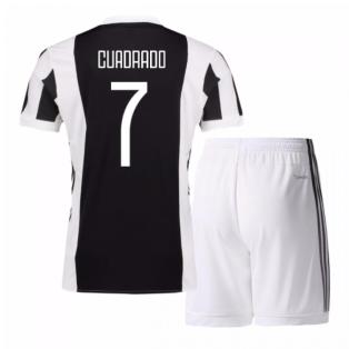2017-18 Juventus Home Mini Kit (Cuadrado 7)