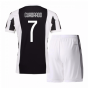 2017-18 Juventus Home Mini Kit (Cuadrado 7)