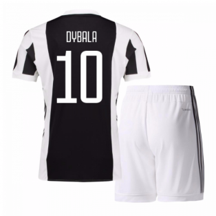 2017-18 Juventus Home Mini Kit (Dybala 10)