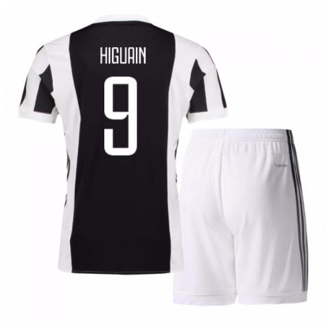 2017-18 Juventus Home Mini Kit (Higuain 9)