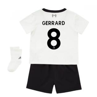 2017-18 Liverpool Away Baby Kit (Gerrard 8)