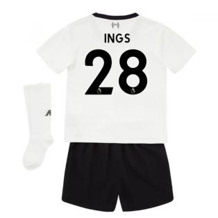 2017-18 Liverpool Away Mini Kit (Ings 28)