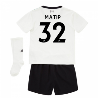 2017-18 Liverpool Away Mini Kit (Matip 32)